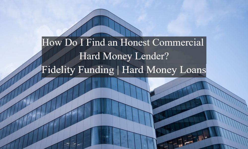 Commercial Hard Money Lender